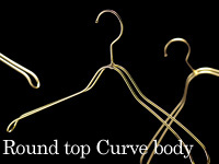 Round top Curve body:スチールハンガー