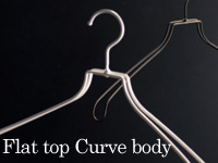 Flat top Curve body:スチールハンガー